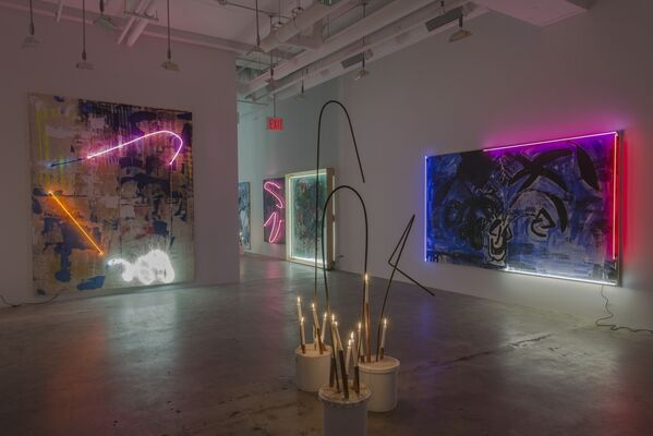 Heavy Painting, installation view