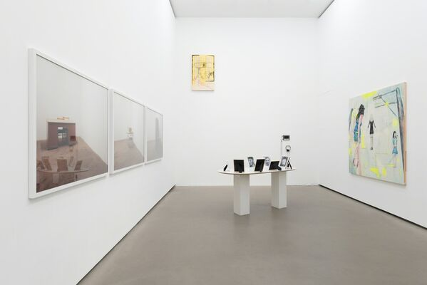 Group exhibition: Revolte, installation view