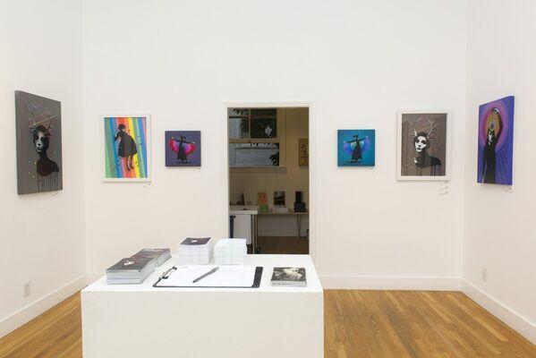 The Darkside of the Rainbow: Eelus, installation view