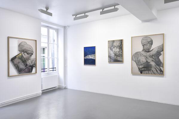 """Frédéric Malette """"Un serpent dans le coeur"""", installation view"""
