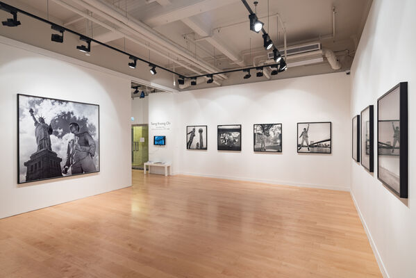 TSENG KWONG CHI : EAST MEETS WEST Self-portrait series 1979 - 1989, installation view