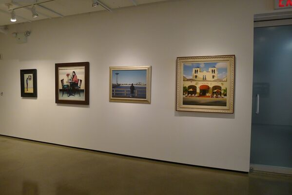 New Paintings by Max Ferguson, installation view