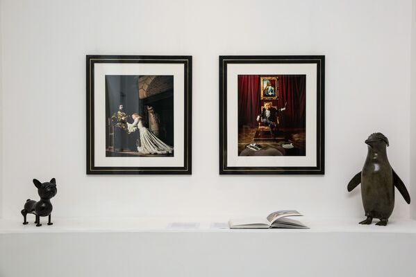 The Fairy Tale of Perrault by Willy RIZZO, installation view