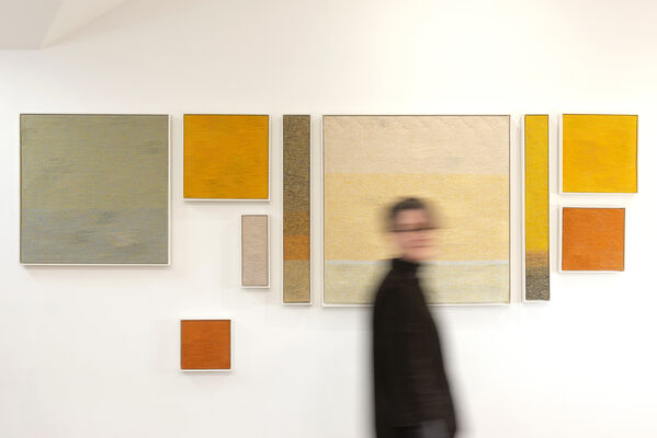 Atelier Weftfaced at London Art Fair 2020, installation view