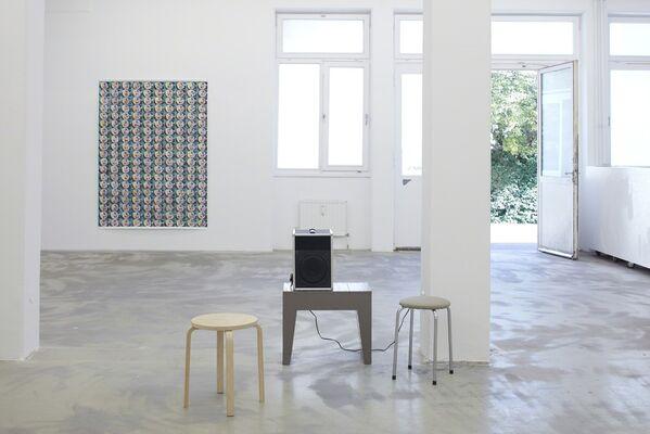 Marijn van Kreij – Nude in front of a Garden, installation view