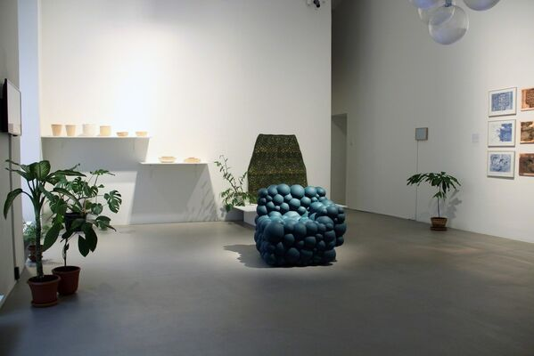 The Living Room, installation view