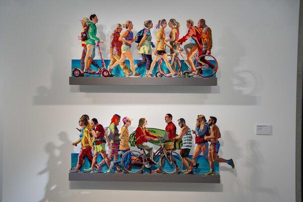 Colors of Joy - David Gerstein Solo Exhibition 豐采・悅動-大衛.歌斯坦個展, installation view