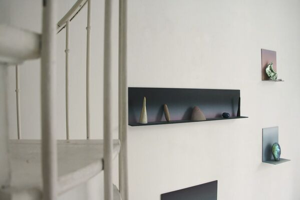 """""""All the world's a stage"""" William Shakespeare - Alexandra Roussopoulos & Martin Mc Nulty, installation view"""