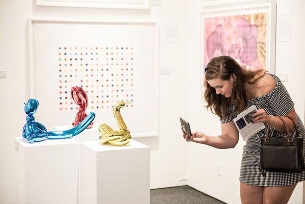 Maddox Gallery at Market Art + Design 2018, installation view