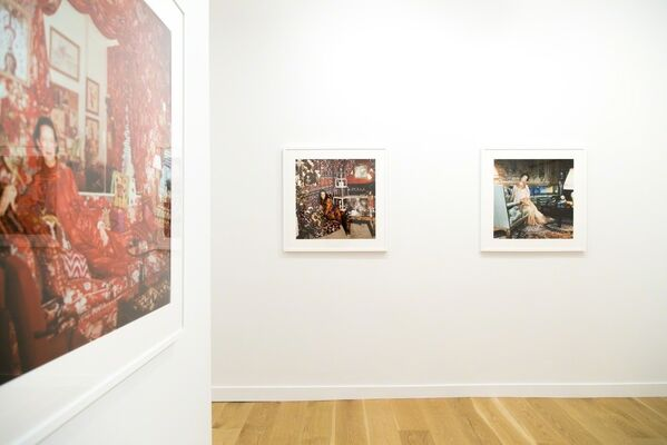 """HORST P. HORST WORKS FROM """"AROUND THAT TIME: HORST AT HOME IN VOGUE"""", installation view"""