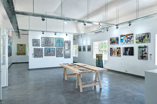 When Africa Meets Mauritius, installation view