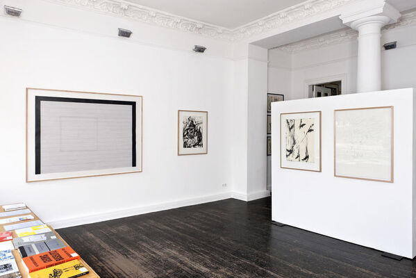 2008-2018 // 10 Years Drawings & Prints, installation view