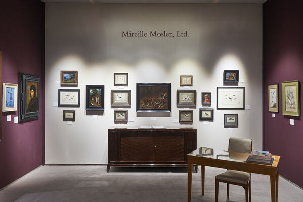 Mireille Mosler Ltd. at TEFAF NY 2016, installation view