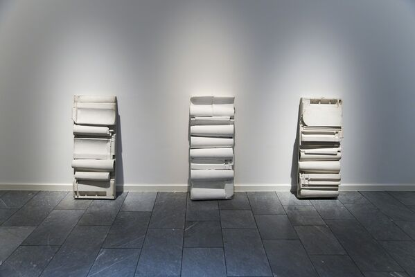 There from the very Beginning! Hans Salentin – Early Relief-Works from the ZERO Period, installation view