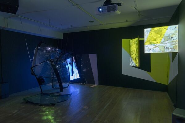 Tenses: Artists in Residence 2015-16, installation view