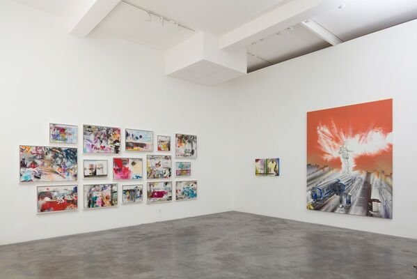 Lee Quiñones - If These Walls Could Talk, installation view