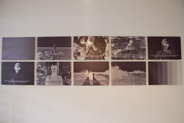 Ulla, Ulla, Ulla, Ulla! Martians, intergalactic and human, installation view