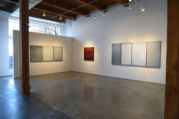 "Janis Pozzi-Johnson ""Born of Water"", installation view"