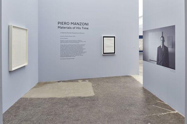 Piero Manzoni. Materials of His Time, installation view