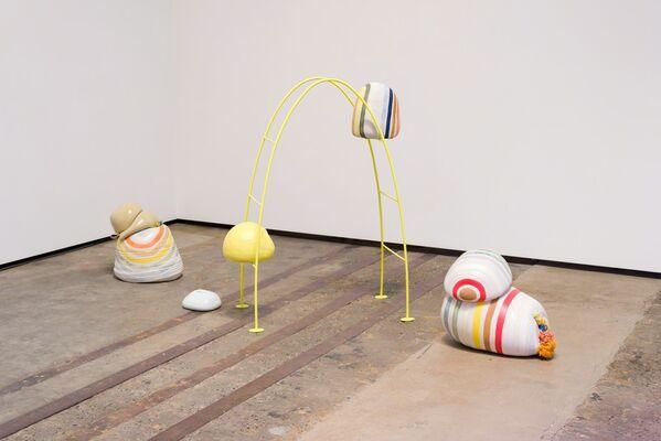 Monte Clark Gallery at Seattle Art Fair 2017, installation view