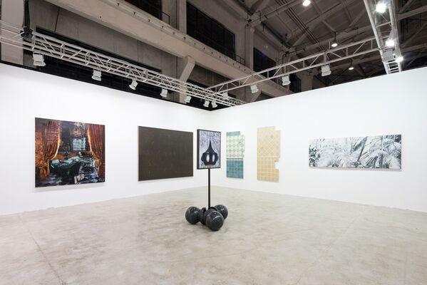 Edouard Malingue Gallery at West Bund Art & Design 2016, installation view