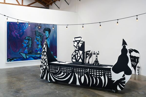 """Steven Hull: """"Never Again Sharpen Your Teeth On the Rope That Holds You..."""", installation view"""