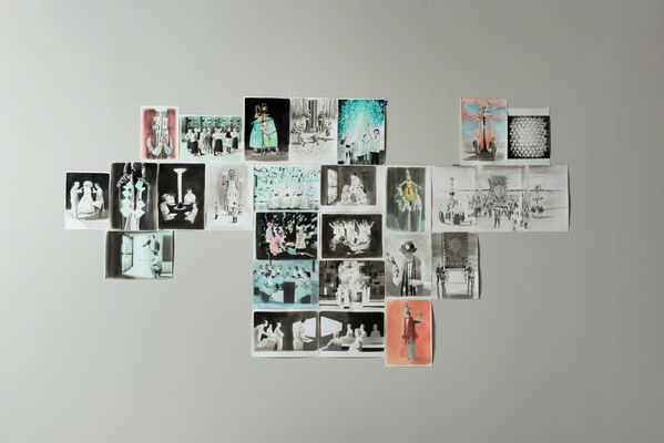 New Paintings by Adam Dix, installation view