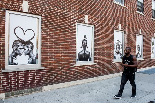 BRAIDS   Photography by Shani Crowe, installation view