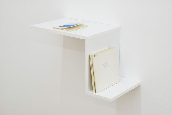 THE WAY YOU READ A BOOK IS DIFFERENT TO HOW I TELL YOU A STORY curated by Marta Ramos-Yzquierdo, installation view