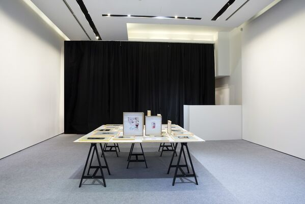 On The Table, installation view