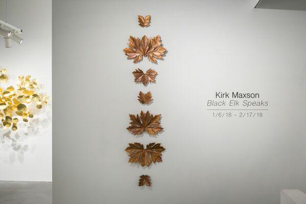 Kirk Maxson, Black Elk Speaks, installation view
