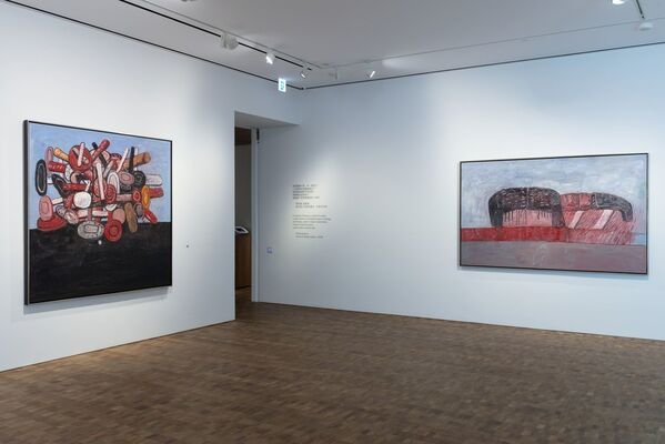 Philip Guston. A Painter's Forms, 1950 – 1979, installation view