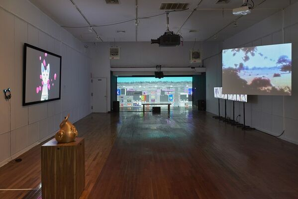 Forging the Gods, installation view