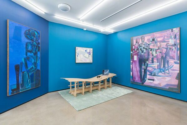 Sverre Bjertnes: Silent Conditions, installation view