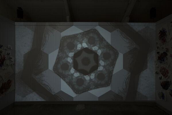 UNICORN vs MEDUSA, installation view