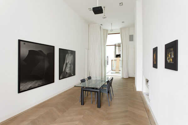 Craigie Horsfield: New Works and Slow Time, Mini-Retrospective, installation view