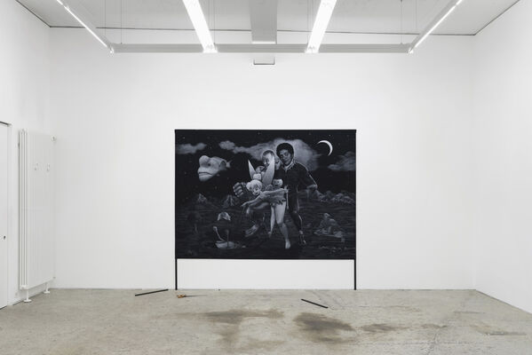 «closer to the moon», installation view