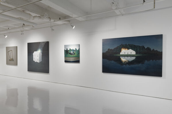 Motohide Takami: Fires on Another Shore, installation view