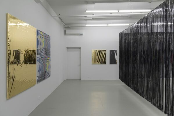 David Lewis at EXPO CHICAGO 2017, installation view