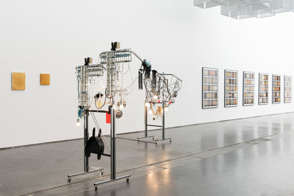 Haegue Yang: Come Shower or Shine, It Is Equally Blissful, installation view