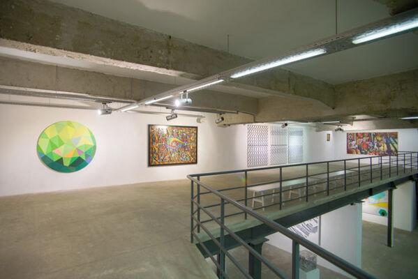 "All-Ukrainian art project ""Kylym. Contemporary Ukrainian Artists"" in Kharkiv, installation view"