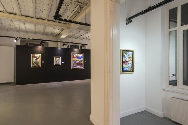 Hidden On The Walls, installation view