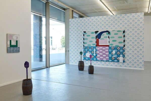 Checkered Checkmate - Nel Aerts, installation view