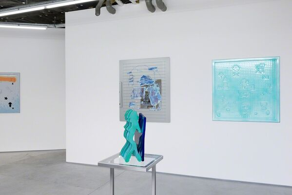 LAUREN ELDER - Blue Pacific, installation view