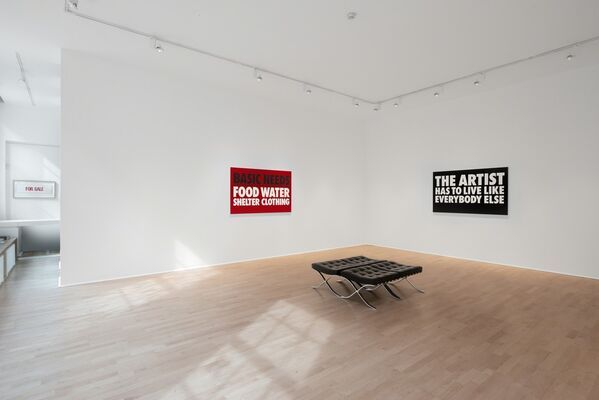 Billy Apple® The Artist Has to Live Like Everybody Else, installation view