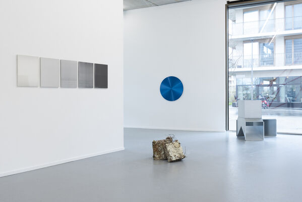 Implicit Movement, curated by Dr. Burkhard Brunn, installation view