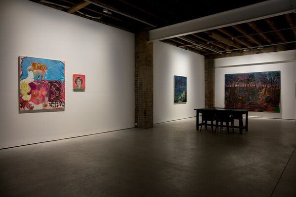 Marie Peter-Toltz   Tonight Think of Me, installation view