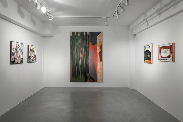 New Mythologies: Figurative Abstraction in Contemporary Painting, installation view