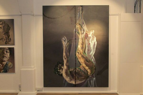 'WORLD CIVIL WAR PORTRAITS' By SARA SHAMMA, installation view