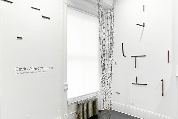 Displacements & Reconstructions, installation view